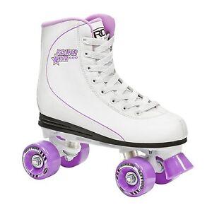 Roller Derby Roller Star 600  High Top Women's Girls Quad Roller Skate - US 9