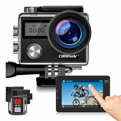 Wifi Action Camera Campark 1080P 4K UHD Sport Touch DVR DV Waterproof Camcorder