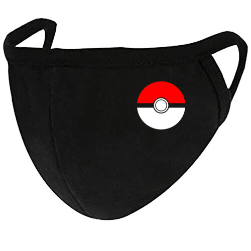 Pokemon - Adult Youth Face Mask Cover Fashion 2 Layers + Pocket