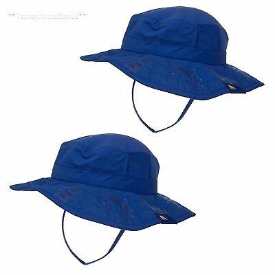 Kids Sun Hat Blue Toddler Children Boys Shade Beach Protection Cap Brim 2 Pack Boys Brim Sun Hat