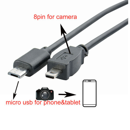 Accessory USA USB PC Data Sync Cable Cord Lead for Sony Camera Alpha DSLR-A100 K DSLR A100 Kit