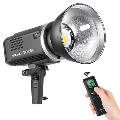 Neewer SLB60W LED Video Light 5600K Version with Remote Control and Reflector