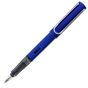 Lamy Al-Star Fountain Pen, Ocean Blue Barrel, Medium Nib (L28M)