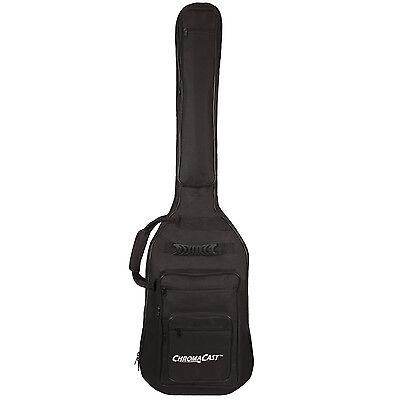 ChromaCast Bass Guitar 6-Pocket Padded Gig Bag Fits Most Electric Bass Guitars