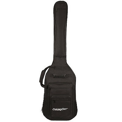ChromaCast Bass Guitar 6-Pocket Padded Gig Bag Fits Most Electric Bass Guitars