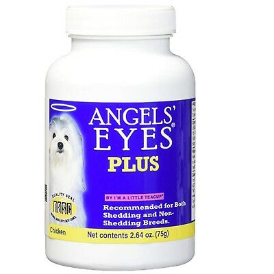 Angels' Eyes Plus Chicken Formula 75 gram | Natural Tear Stain Remover for Dogs