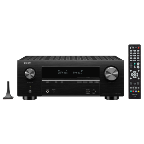 Denon AVR-X3500H 7.2 AV Receiver Schwarz 4K DLNA BT WLAN HEOS Alexa