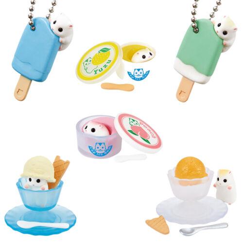 Miniature Mini Hamster Ice Ham Cream Pop Kawaii Japanese Gashapon Capsule Figure
