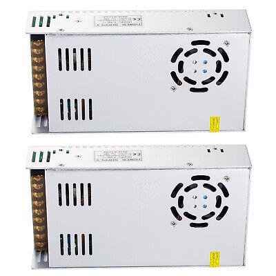 2pcs Ac 110v-220v To Dc 12v 40a 480w Transformer Switch Power Supply Converter