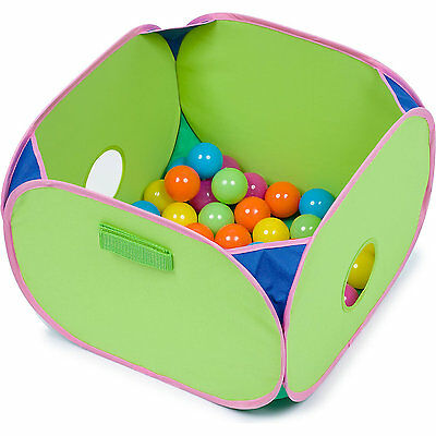 Marshall Pet Pop-n-Play Ball Pit with Plastic Balls 14x14x10 (Free Shipping USA