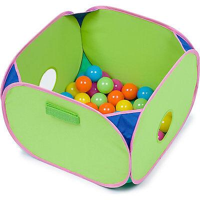 Marshall Pet Pop-n-Play Ball Pit with Plastic Balls 14x14x10 (Free Shipping USA
