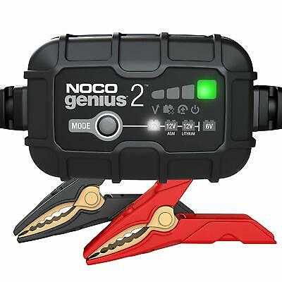 NOCO® GENIUS 2 Battery Charger w/Interchangeable Connector
