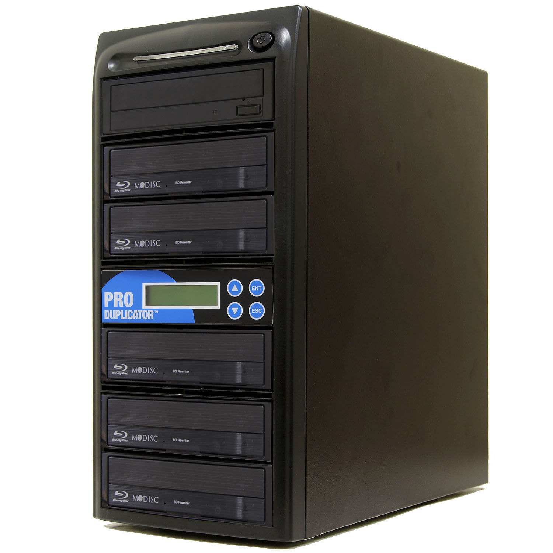 Produplicator 1 to 5 Blu-ray BD BDXL M-Disc CD DVD Duplicato