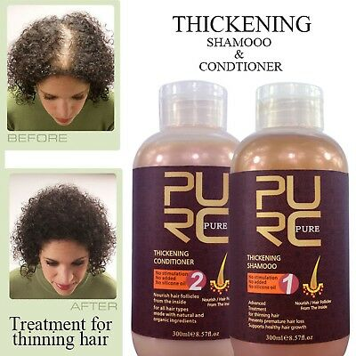 Best effect hair shampoo and conditioner for hair growth and hair loss