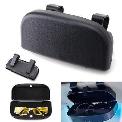 Black Universal Fit Car Sun Visor Snap-On Clip Mount Eye Glasses Case Holder (Santa Fe Eyewear)
