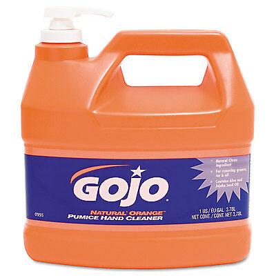 Hand Cleaners Natural - Gojo Natural Orange Pumice Hand Cleaner Orange Citrus 1gal Pump 095504EA