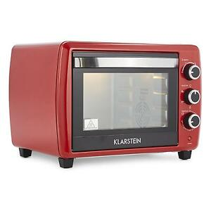 Countertop Oven Grill : ... SMALL MINI ELECTRIC OVEN GRILL 30L COUNTERTOP KITCHEN ROTISSERIE RED