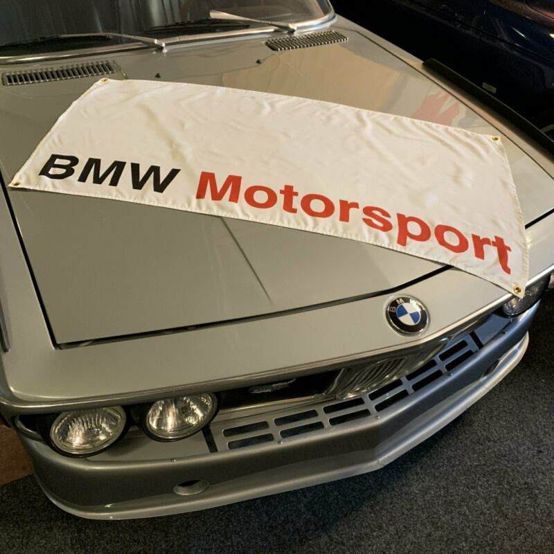 BMW Motorsport Banner 5.0l m Tech Bimmer E60 roadster alpina b6 f92 racing flag