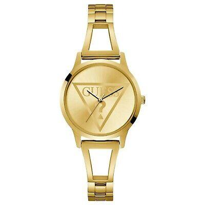 Guess Gold-Tone Stainless Steel Quartz Women's Watch W1145L3