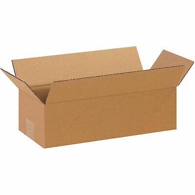 14 X 6 X 4 Long Cardboard Corrugated Boxes 65 Lbs Capacity 200ect-32 Lot