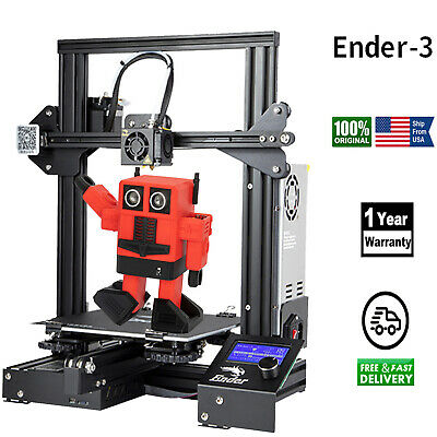 US Creality Ender 3 3D Printer Fully Open Source with Resume Printing Function