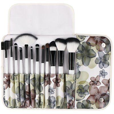 New Sephora Makeup Brushes 12 Piece Professional Makeup Cosmetics Brush Set Kits
