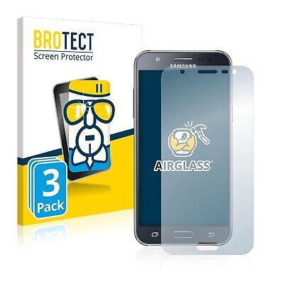 3x Protector Pantalla para Samsung Galaxy J5 2015 Cristal Pelicula Transparente
