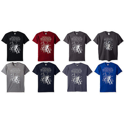 - Star Wars Men's Official 'Poster' Design Performance Graphic Tee