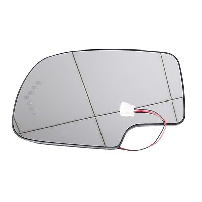 Heated LED Turn Signal Driver Side View Mirror Glass For 03-07 Chevy GMC covid 19 (Driver Side Chevrolet coronavirus)
