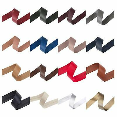 Imitation Faux Leather PU Tape,Edging Trim Ribbon Strap Strip,Wipeable,Strong