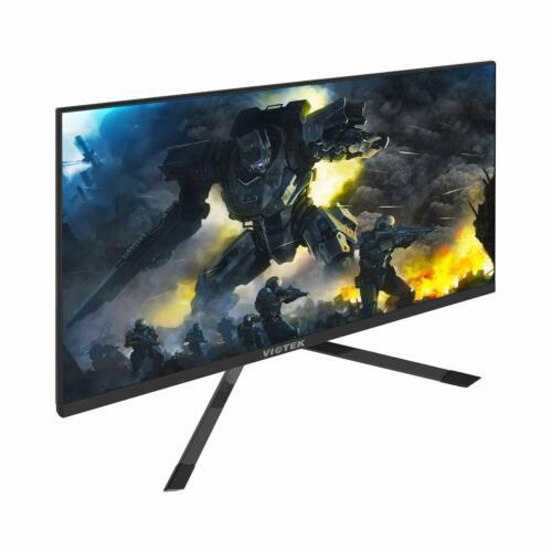 VIOTEK GFT27DB 27-Inch WQHD Gaming Monitor w/ Speakers 1440p 144Hz 1ms FreeSync
