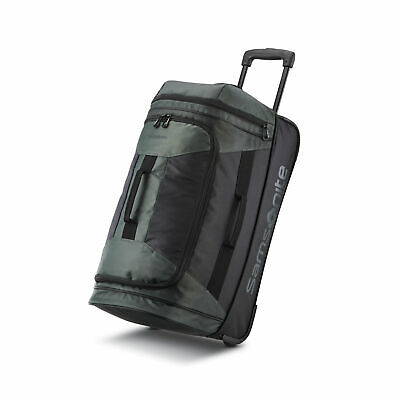 "Samsonite Andante 2 28"" Wheeled Duffel Moss Green/ Black 117225-C065"