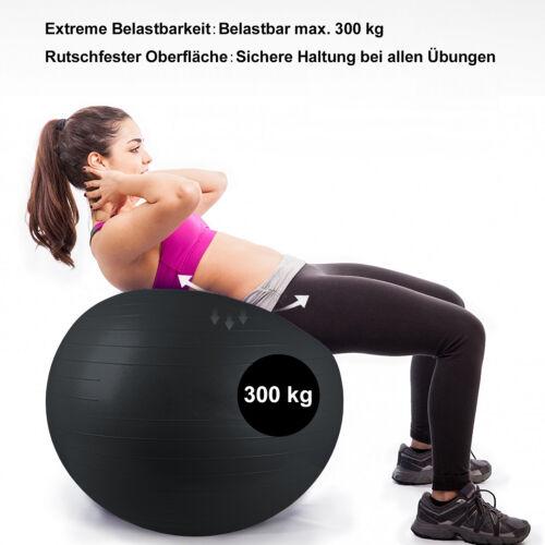 Krankengymnastik Büroball Balance Stuhl Sitzball bis 300kg Gymnastikball 85cm