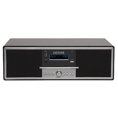Stereoanlage DAB+ Radio mit Bluetooth, USB und AUX IN Denver MDA-250 BLACK