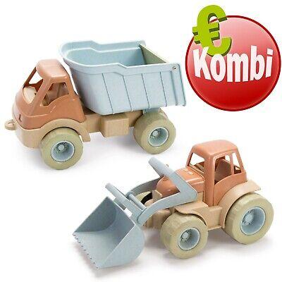 Dantoy BIO PLAST Traktor + Truck Kinder Outdoor Spielzeug Nachhaltig