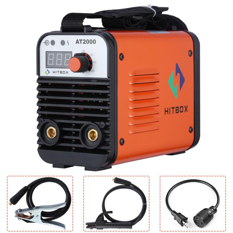 HITBOX AT2000 ARC Welder 110V 220V Dual Volt Rod Stick  Inverter Welding Machine