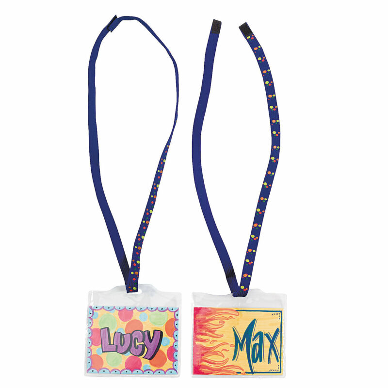 Do It Yourself Super Safe Name Tags - 48 Pcs. - Craft Kits - 48 Pieces