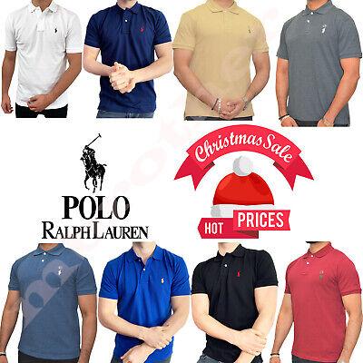 Ralph Lauren Men's Polo Cotton Short Sleeve T-Shirt Premium Quality S/M/L/XL/XXL