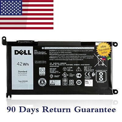 Genuine OEM WDX0R WDXOR Battery For Inspiron 15 5567 5568 13 5368 7368 7569 NEW