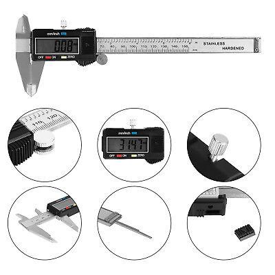 Digital Electronic Gauge Metal Vernier 150mm 6inch Lcd Caliper Micrometer Us Sto