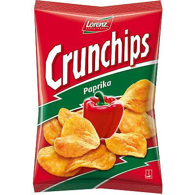 2 Pack Lorenz Crunchips PAPRIKA german potato chips - 2 x175g New from Germany