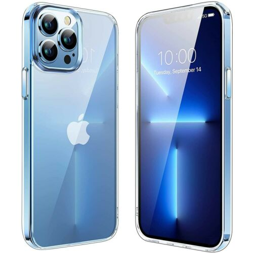For iPhone 13 Pro Max/13 Pro/13 Mini Case Clear Crystal Cover / Screen Protector