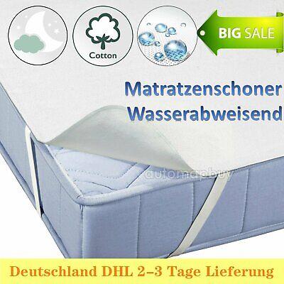 Matratzenauflage 140x200cm Matratzenschoner Matratzenschutz Topper Boxspringbett