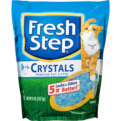 Fresh Step Scented Crystals Premium Cat Litter, 8 lbs. ()