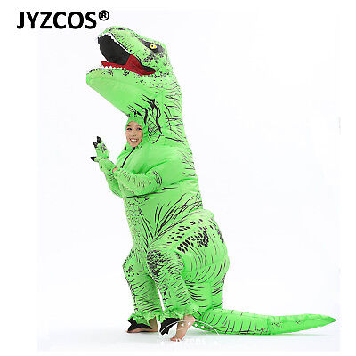 T-Rex Inflatable Dinosaur Costume for Kid Party Fancy Dress Halloween Outfit Boy - Scary Dinosaur Costume