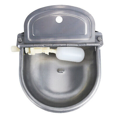Automatic Waterer Bowl For Pets Or Livestock Without Drainage Hole