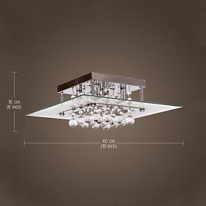 New-Modern-Crystal-3W-Ceiling-Light-Pendant-Lamp-Fixture-Lighting-Chandelier