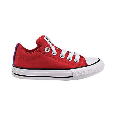 Converse Shoes Kids (Converse Chuck Taylor Street Slip Kids Shoes Enamel Red-Black-White)