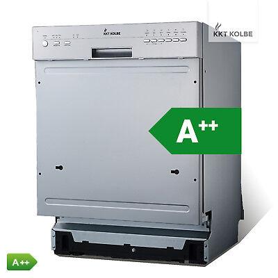 Geschirrspüler Einbau Spülmaschine teilintegriert 60cm 6 Programme A++ KKT KOLBE