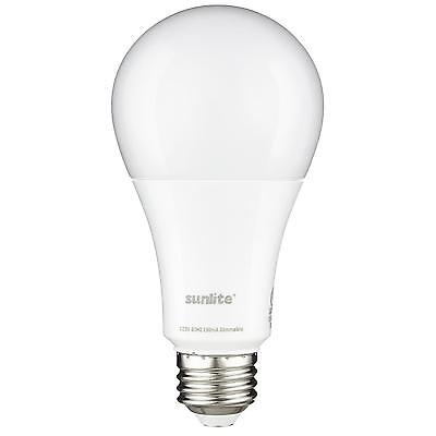 Sunlite LED A Type Household 13W (75W Equivalent) Medium (E26) Base, Warm - 75w Equivalent Medium Base